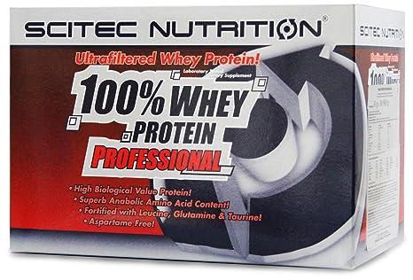 Scitec Nutrition Whey Protein Professional Mix 60 x 30g (Schokolade- Kokosnuss, Schokolade-Haselnuss, Vanille-Waldfrucht, Banane und Erdbeere-Weise Schokolade)