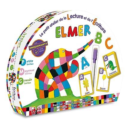 Dujardin - 57601 - Jeu de Société - Elmer - Les Mots et l'écriture