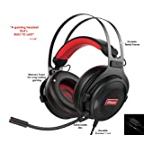 Pro Gaming Headset with Mic (Universal) Video Gamer Wired Headphones | Xbox One, PS4, PC, Laptop, and Mobile Device Compatible| Stereo Sound, 3.5mm Connection | HC Gamer Life (Color: Multi, Tamaño: Headset)
