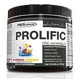 PEScience Prolific Pre-Workout - Raspberry Lemonade, 40 scoops (Color: Raspberry Lemonade, Tamaño: 40 scoops)