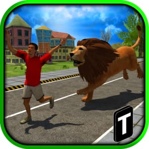 Angry Lion Attack 3D from Tapinator