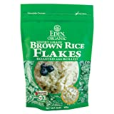EDEN Brown Rice Flakes, 16 -Ounce Pouches