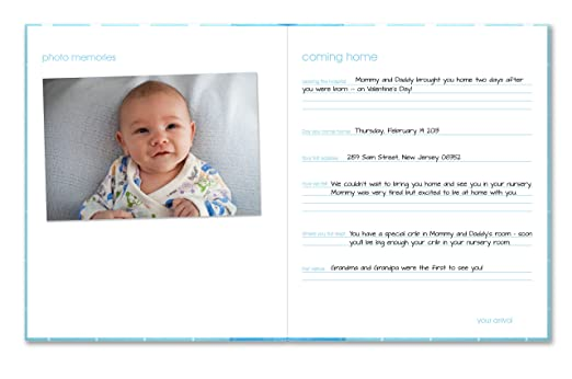 Pearhead Modern Dots Baby Book Pearhead Modern Dots Babybook