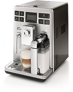 Saeco HD8854/01 Exprelia Kaffeevollautomat, Cremaventil, Milchkaraffe, silberKundenbewertung: