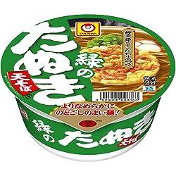 マルちゃん 緑のたぬき天そば(東)