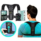 Ultra Adjustable XL Posture Corrector for Men and Women – Mbracefully Back Brace with Premium Support for Better Work Posture and Lower Back Pain Relief (Large) (Tamaño: Large)