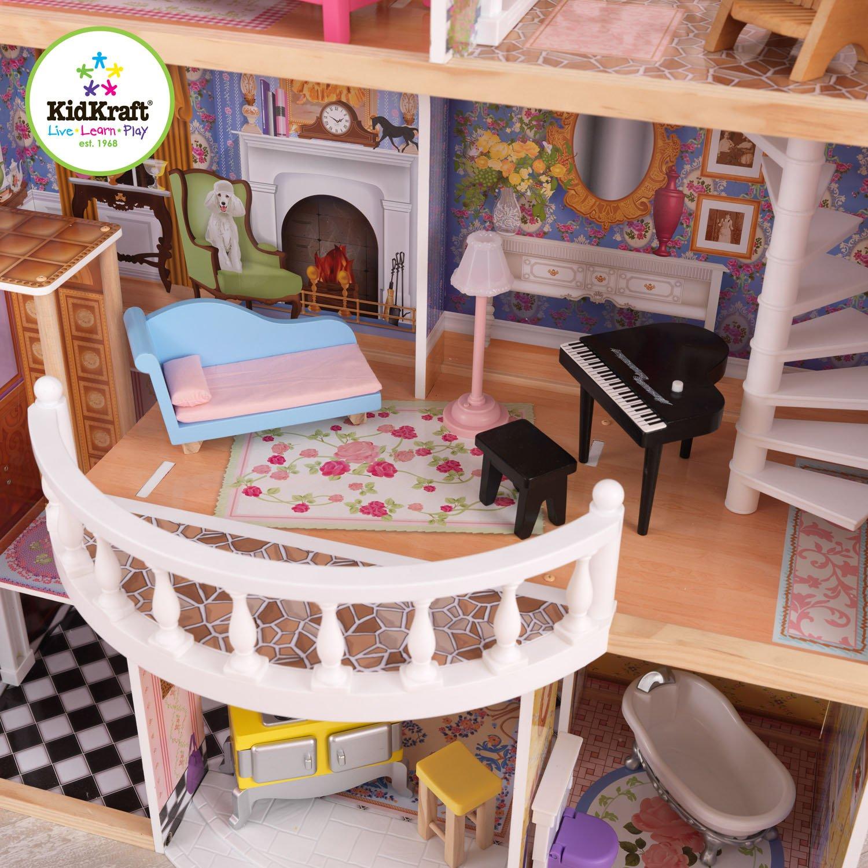 Kidkraft dolls houses for Lit kidkraft