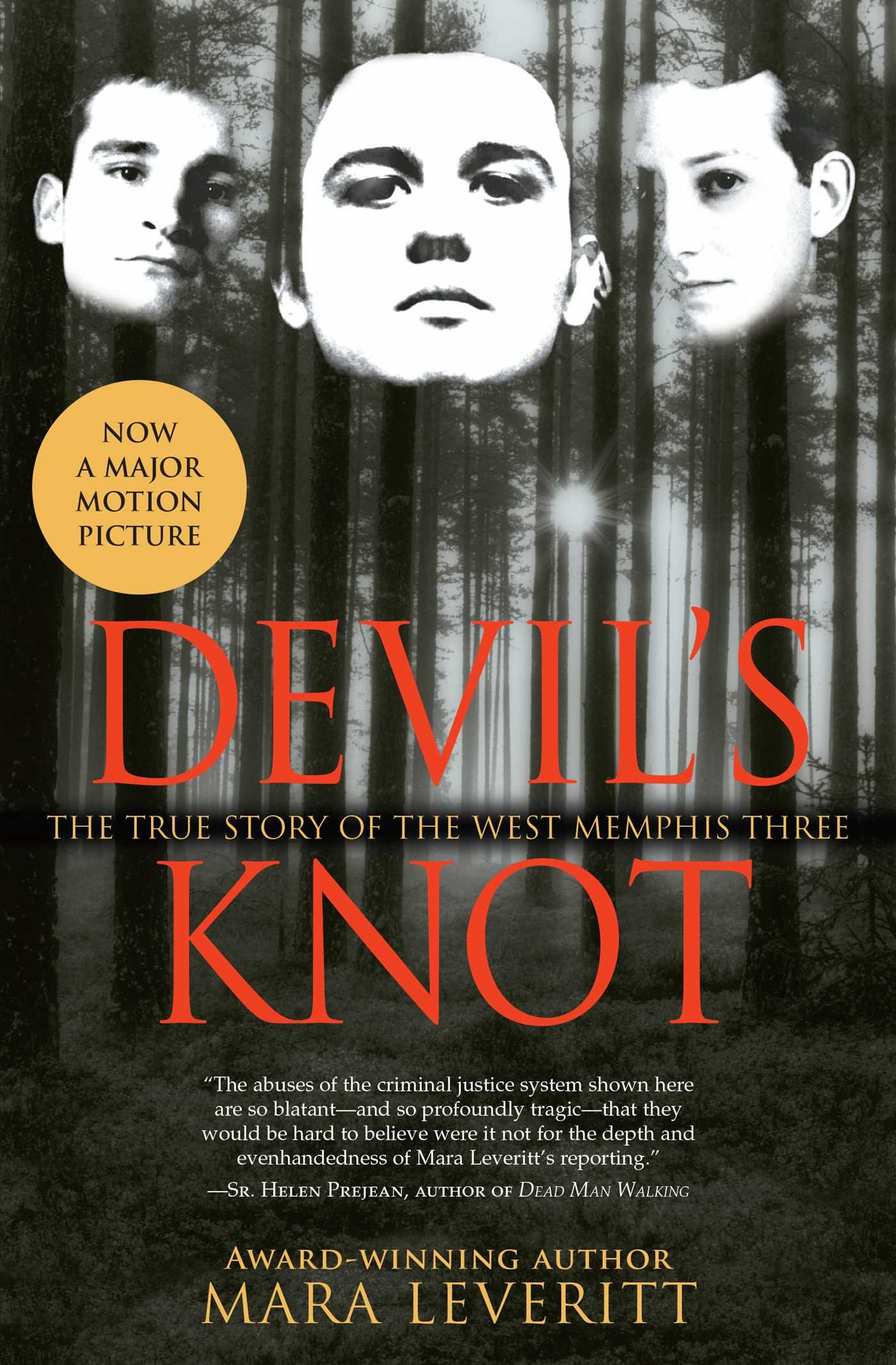 Book cover to 'Devil's Knot: The True Story of the West Memphis Three'