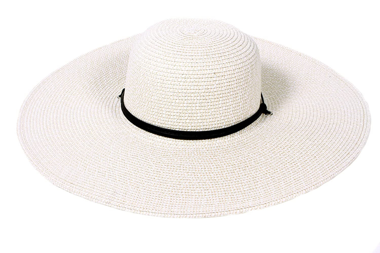 Wide Brim Floppy Hat Wide Brim Straw Hat With