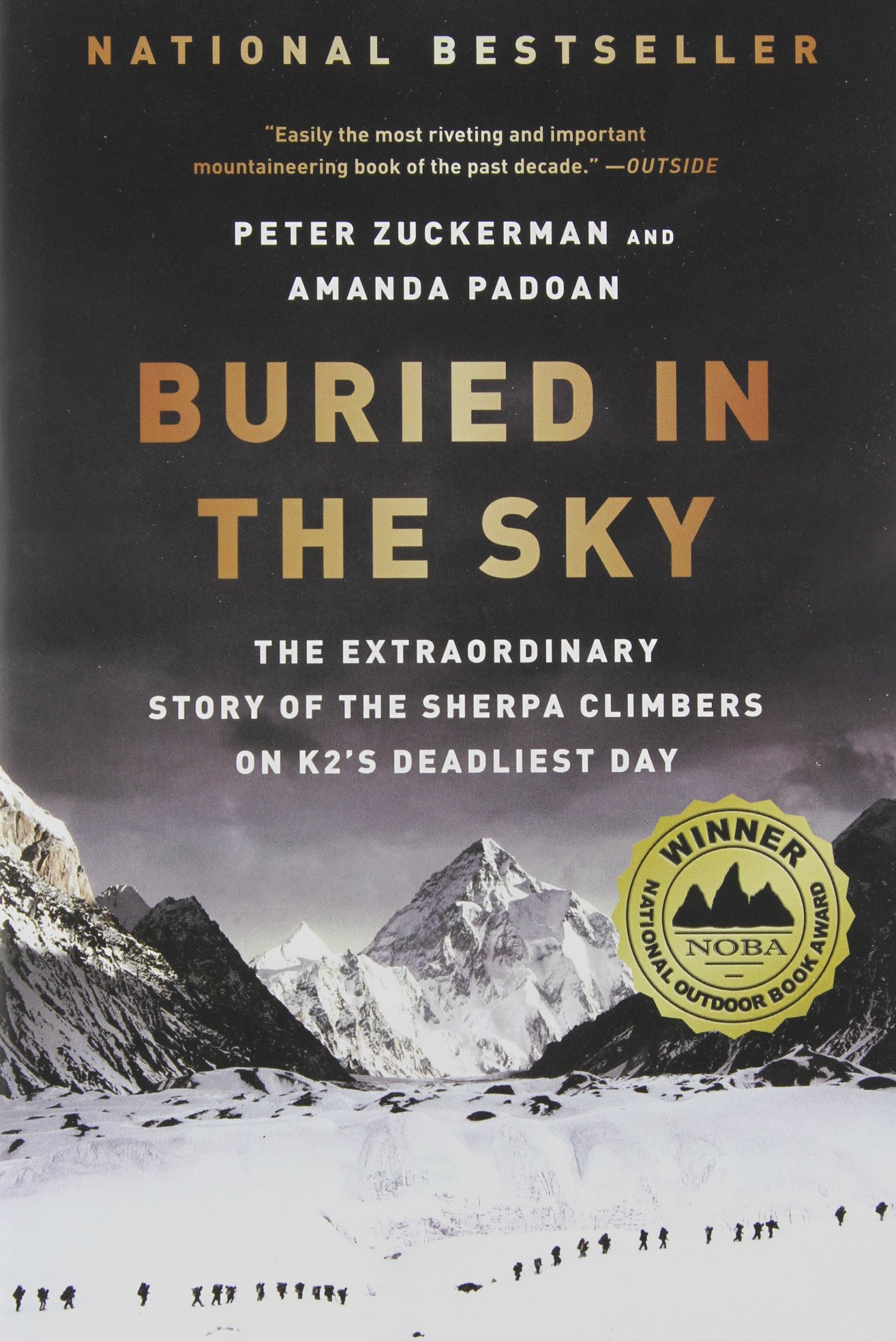 Buried in the Sky: The Extraordinary Story of the Sherpa Climbers on K2's Deadliest Day Book Cover