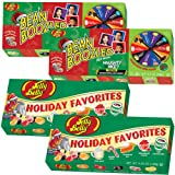 Bean Boozled Naughty Or Nice And Jelly Belly Holiday Favorites Set (4 Total) (Color: Multicolor, Tamaño: 3.5 Ounces)