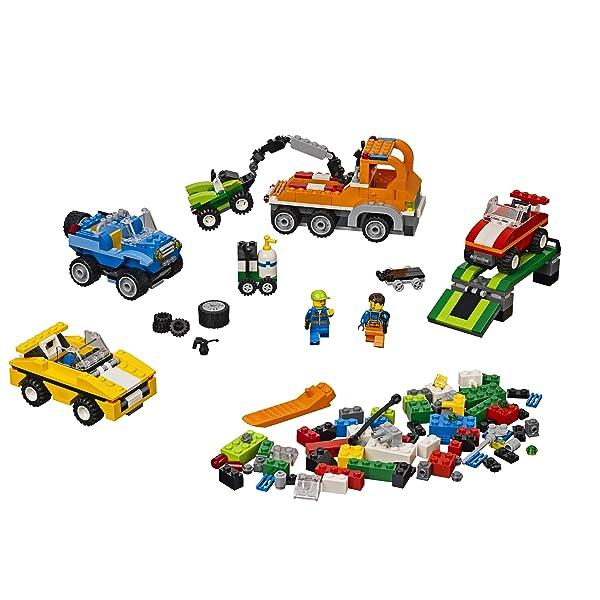 建构区积木搭建汽车步骤图片