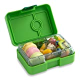 YUMBOX MiniSnack Leakproof Snack Box (Avocado Green); Bento-style snack box offers Durable, Leak-proof, On-the-go Meal and Snack Packing (Color: Green, Tamaño: Small)