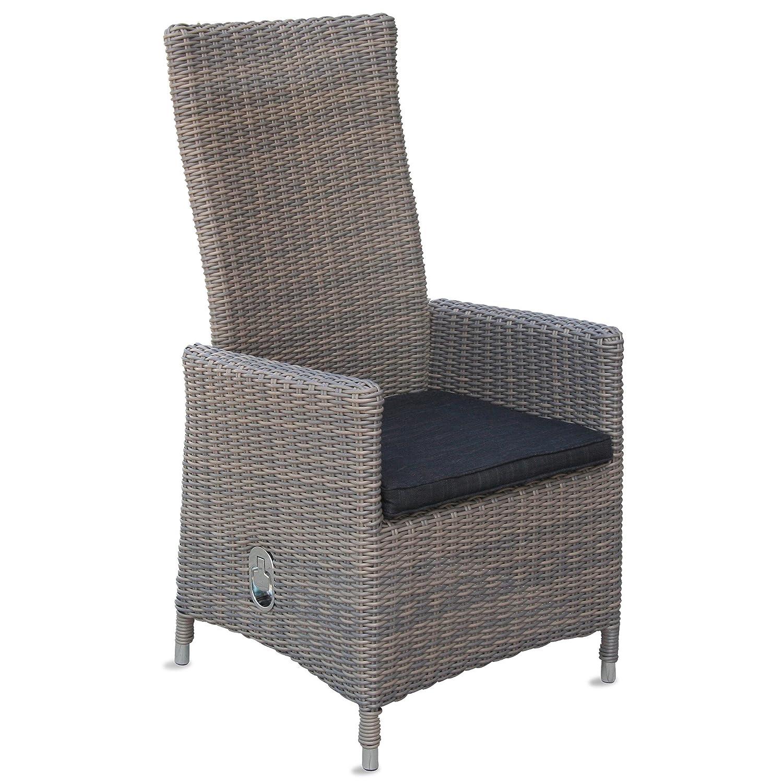 4 Poly Rattan Hochlehner Keitum Balkonmöbel Stühle Terrassenmöbel Gartenstühle online bestellen