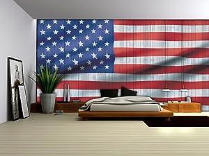 Vlies Fototapete Fototapeten Tapete Tapeten Poster USA AMERIKA FAHNE FLAGGE 1108 VE  BaumarktKundenbewertung und weitere Informationen