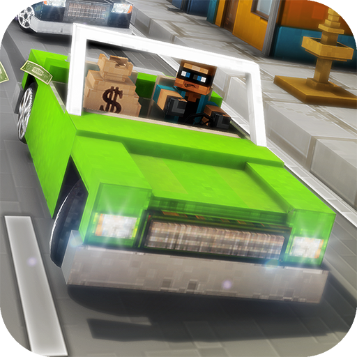 Robber Race Escape - Blocky Police Car Chase Endless Runner (Car Chase compare prices)