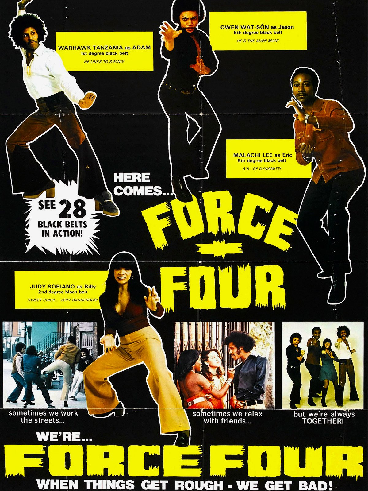 Force Four on Amazon Prime Video UK
