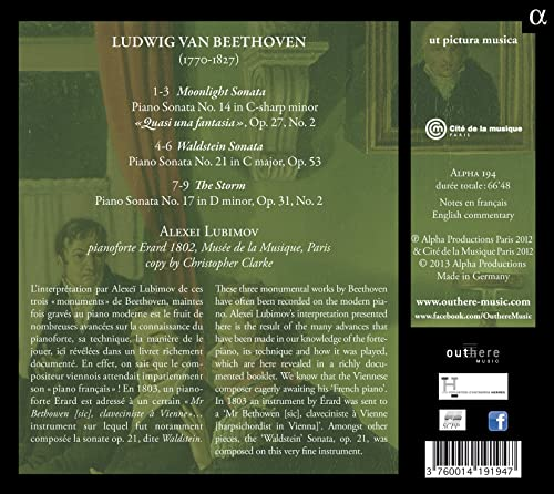 Beethoven Sonates pour piano - Page 2 81ZY38CFvpL._SL500_