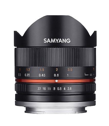 Samyang Objectif Fisheye II pour Sony E 8 mm F2.8 UMC Noir