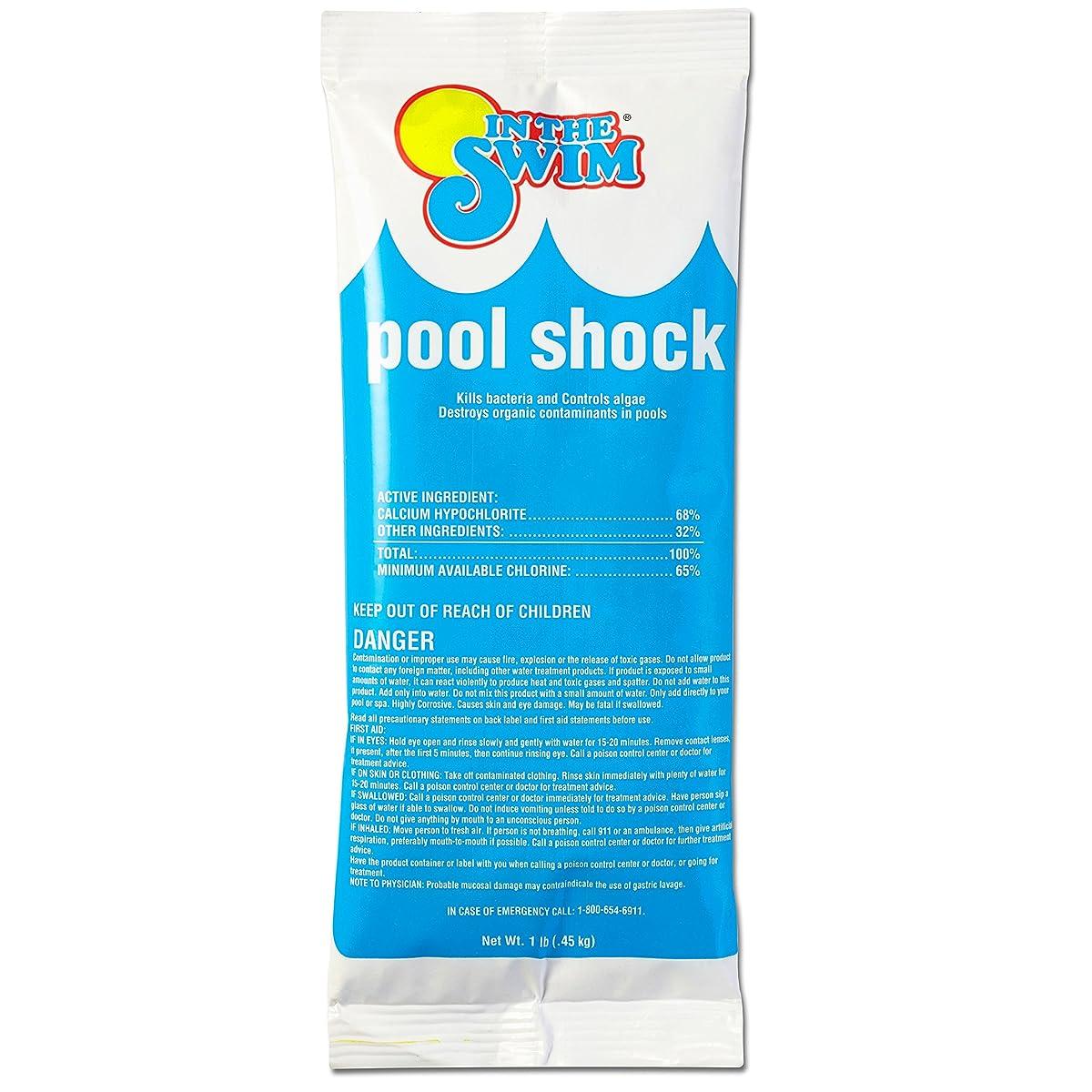 In The Swim Chlorine Pool Shock - 24 X 1 lb. bags
