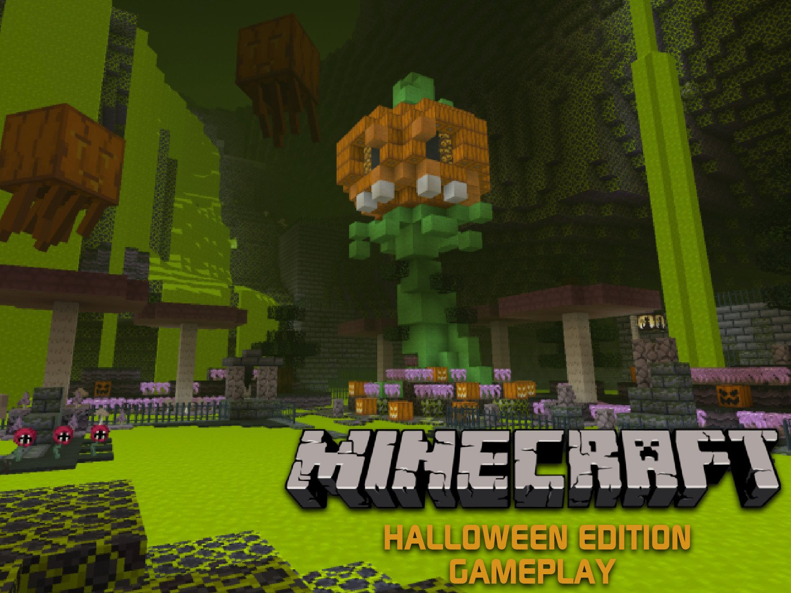 Clip: Minecraft Halloween Edition Gameplay - Season 1
