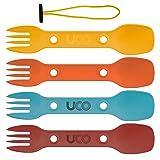 UCO Utility Spork 3-in-1 Combo Spoon-Fork-Knife Utensil (Color: Classic, Tamaño: One Size)