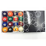 1 1/2 Inch Pool Table Billiard Ball Set Children's Gift Triangle Set Included