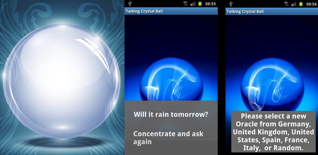 crystal ball spielen
