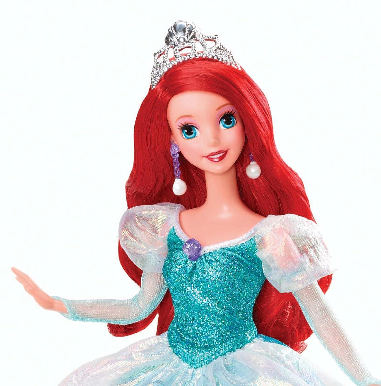 NIB Disney Princess 2013 Holiday Princess Ariel Little ...