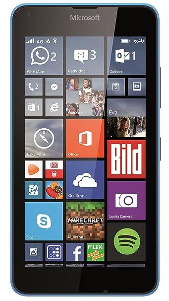 Microsoft Lumia 640 LTE 4G Smartphone débloqué  Bleu (import Allemagne)