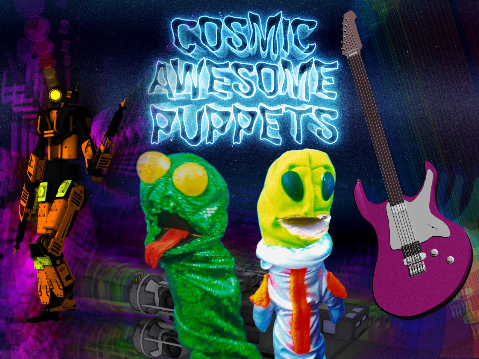 Cosmic Awesome Puppets
