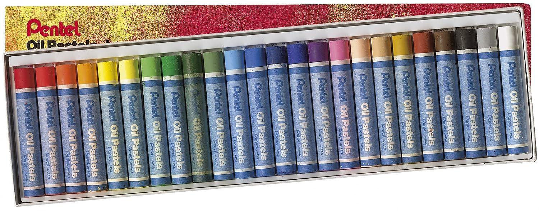 pastels à l'huile x 24
