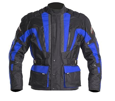 Nouvelle RST Alpha III 1084 bleu moto veste grande valeur