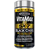 MuscleTech SX-7 Black Onyx Vitamax Test, 120 Count
