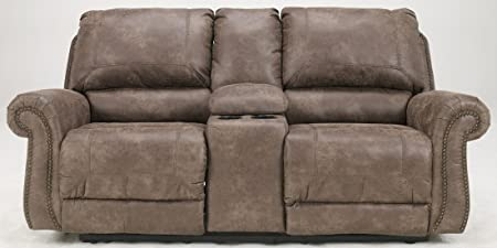 Oberson Double Reclining Loveseat with Console Standard