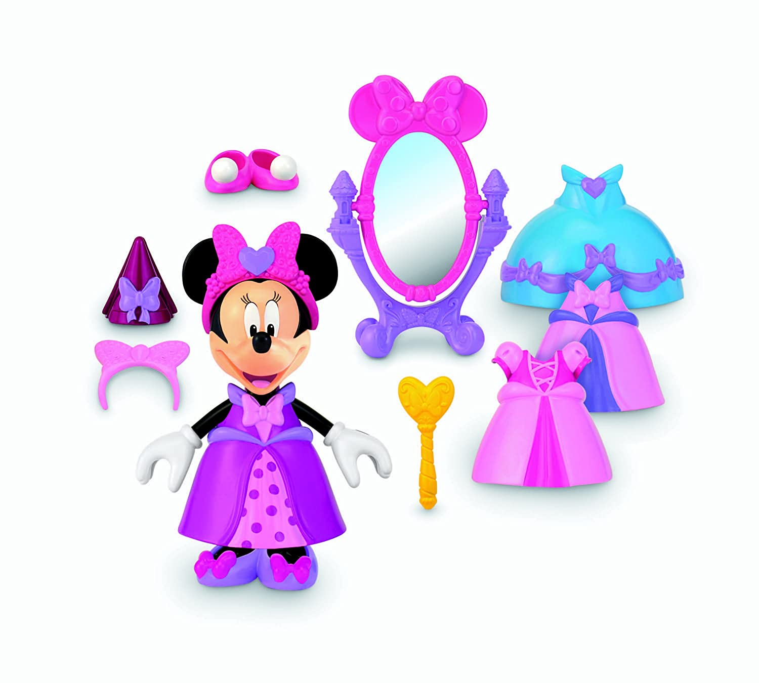 Fisher Price Disney S Princess Bowtique Minnie Mouse New Princess Minnie Mouse