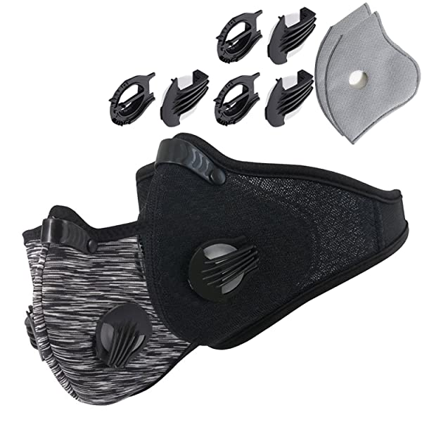 Novemkada Dustproof Masks - Activated Carbon Dust Mask with