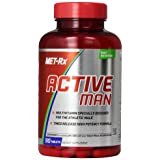 MET-Rx Active Man Multivitamin, 90 count, Comprehensive Multivitamin for Active and Athletic Men, Vitamins, Minerals and Antioxidants (Tamaño: 90 Tablets)