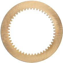 Boston Gear YI4896 Internal Gear, 20 Degree Pressure Angle, 48 Pitch, 96 Teeth, Brass
