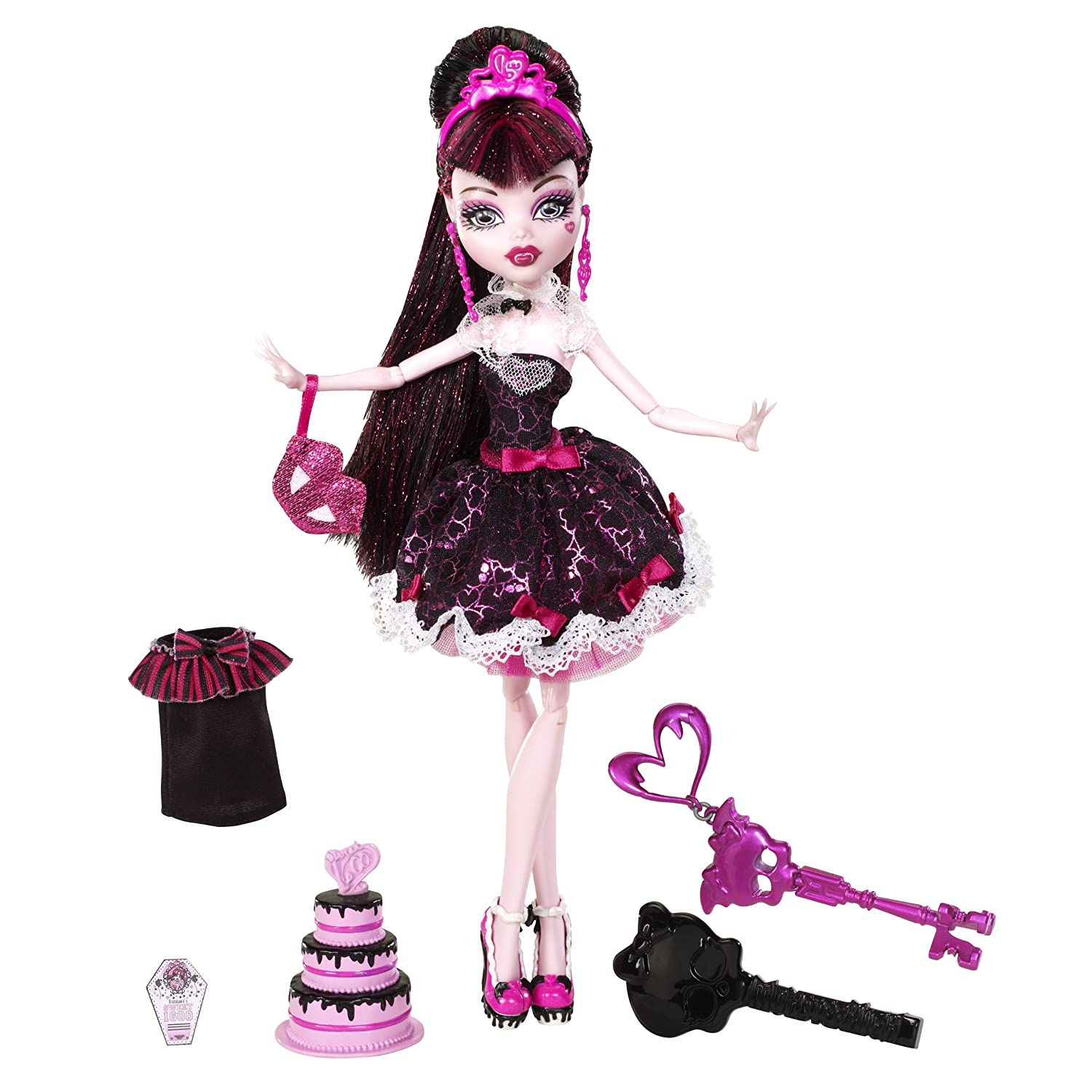 NIB MONSTER HIGH Sweet 1600 Clawdeen & Clawd Wolf ...