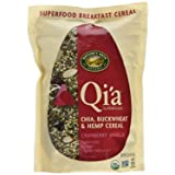 Nature's Path Qi'a Superfood Cranberry Vanilla Chia, Buckwheat & Hemp Cereal