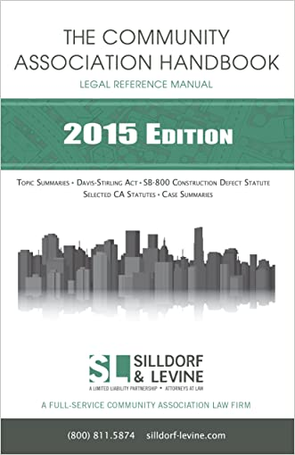 The Community Association Handbook: A Legal Reference Manual