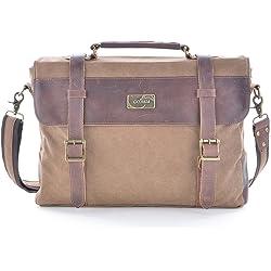 Gootium 30825CF Canvas Messenger Bag For 14