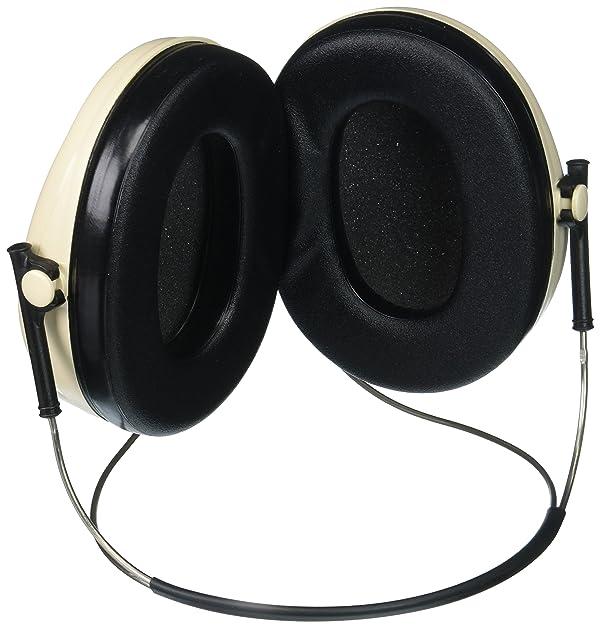 3M H6B/V Peltor Optime 95 Behind-the-Head Earmuffs (Color: Black, Tamaño: Behind the head)
