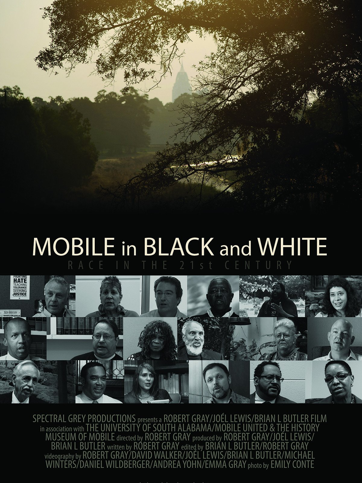 Mobile in Black and White