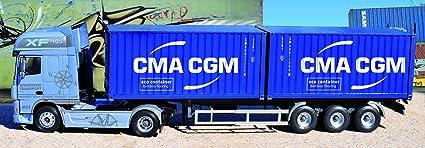 Italeri - I3861 - Maquette - Voiture et Camion - DAF 105XF Container CMA-CGM - Echelle 1:24