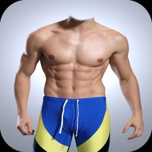 Fitness Men Photo Montage