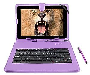 DURAGADGET Funda / Teclado Color MORADO En ESPAÑOL Con Letra Ñ Para Tablet Nevir NVR-TAB101 S2,S3 / NVR-TAB97 S3,S1 / NVR-TAB9 S5 Con Conexión MicroUSB + Lápiz Stylus  Electrónica Comentarios de clientes y más noticias