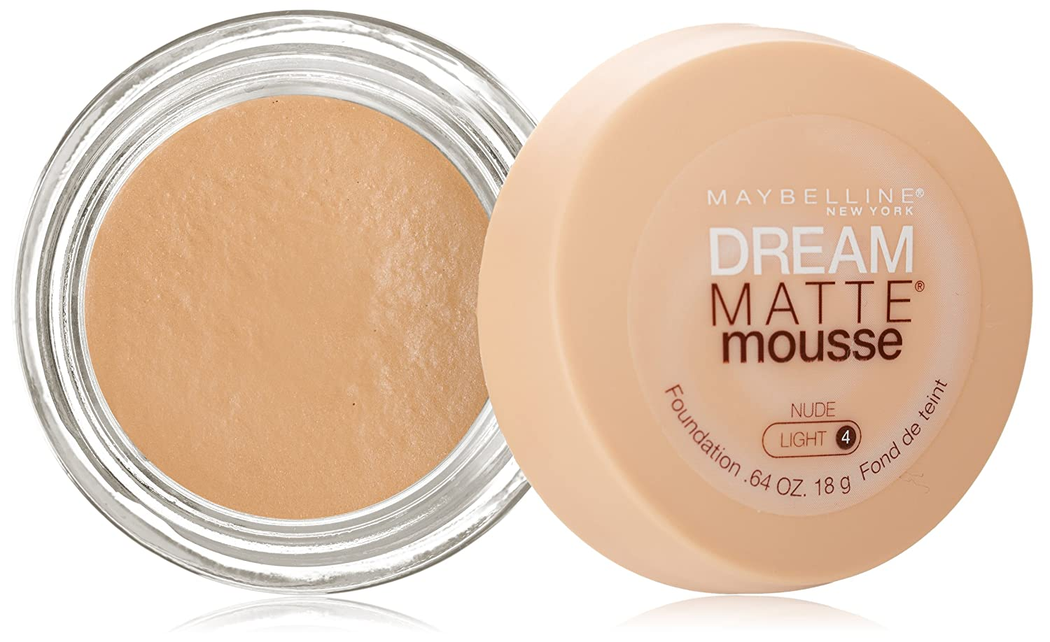 Buy Maybelline Dream Matte Mousse Foundation, Nude 18g Online at ...