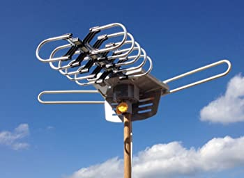HDTV Outdoor Amplified Antenna